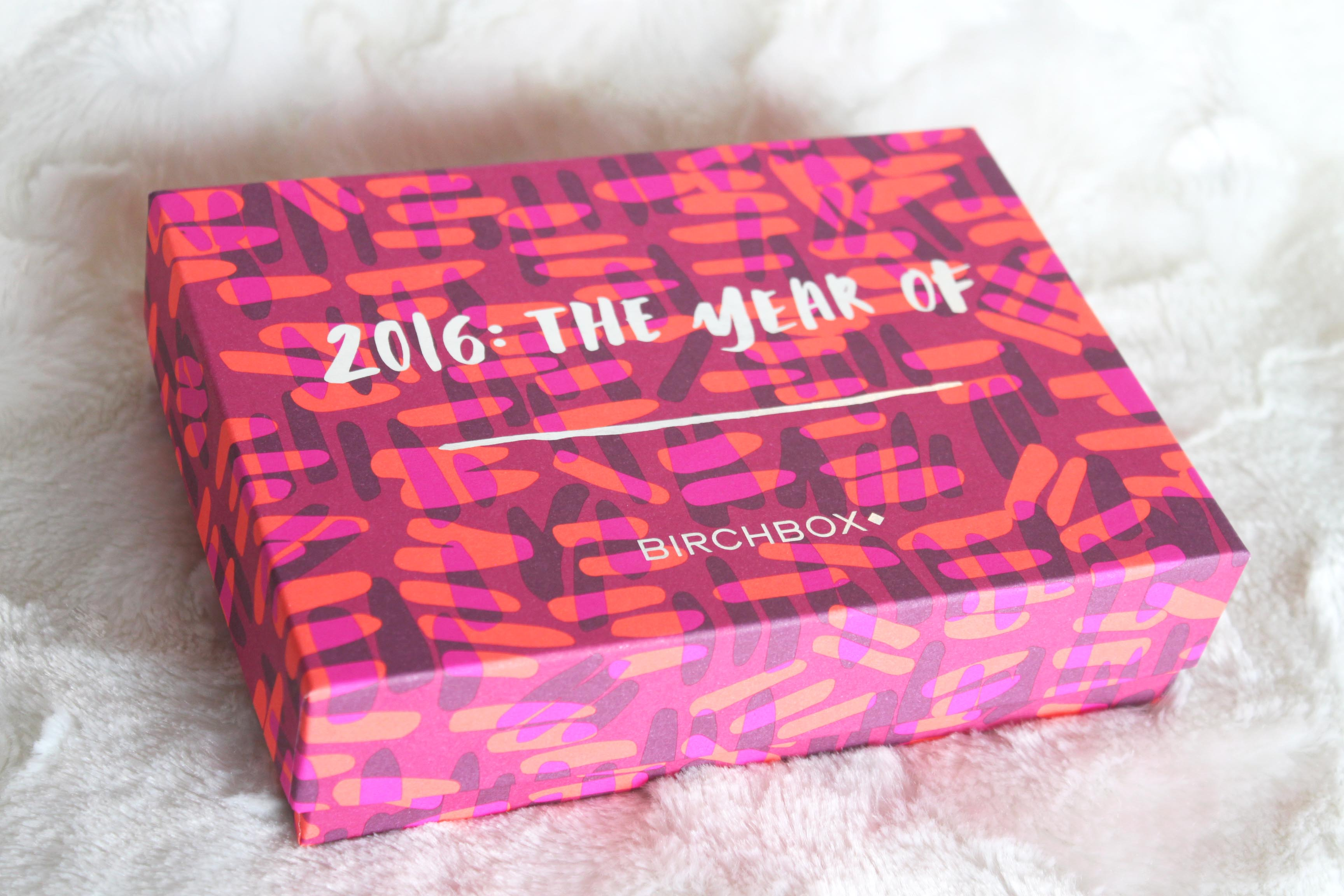 January 2016 Birchbox