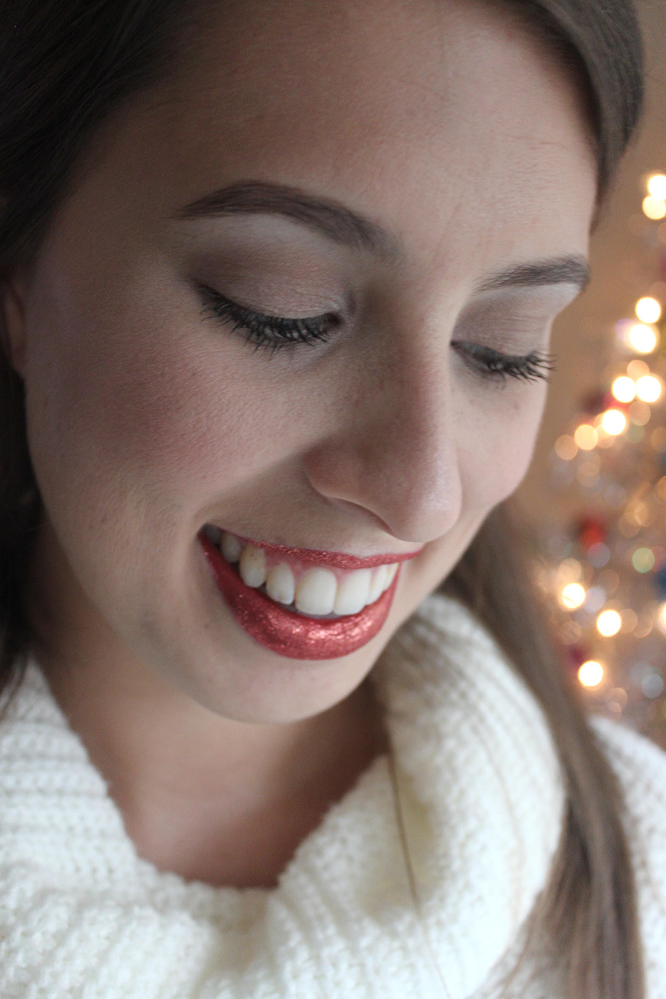 Glitter Lips!