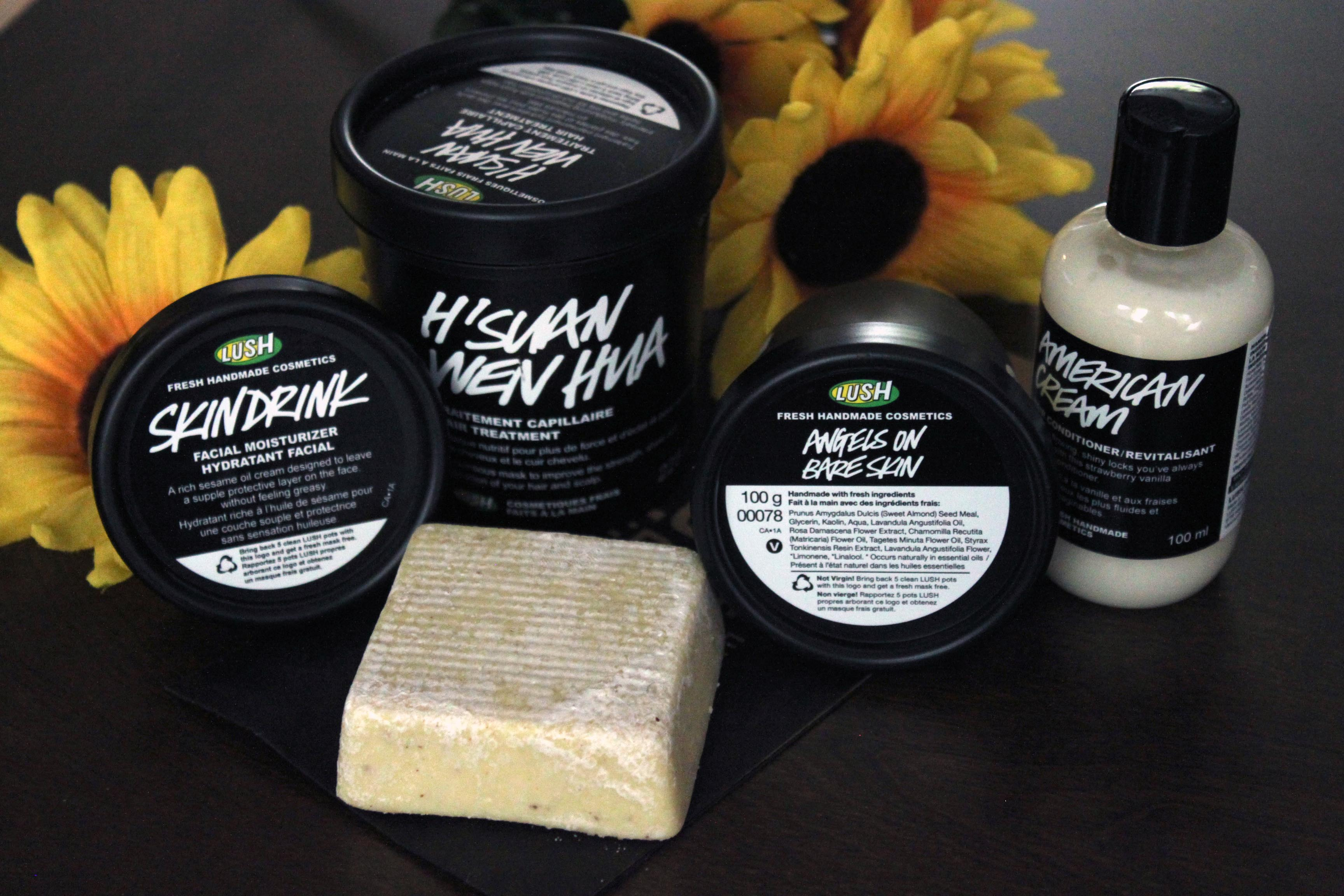 LUSH Skin and Haircare Haul