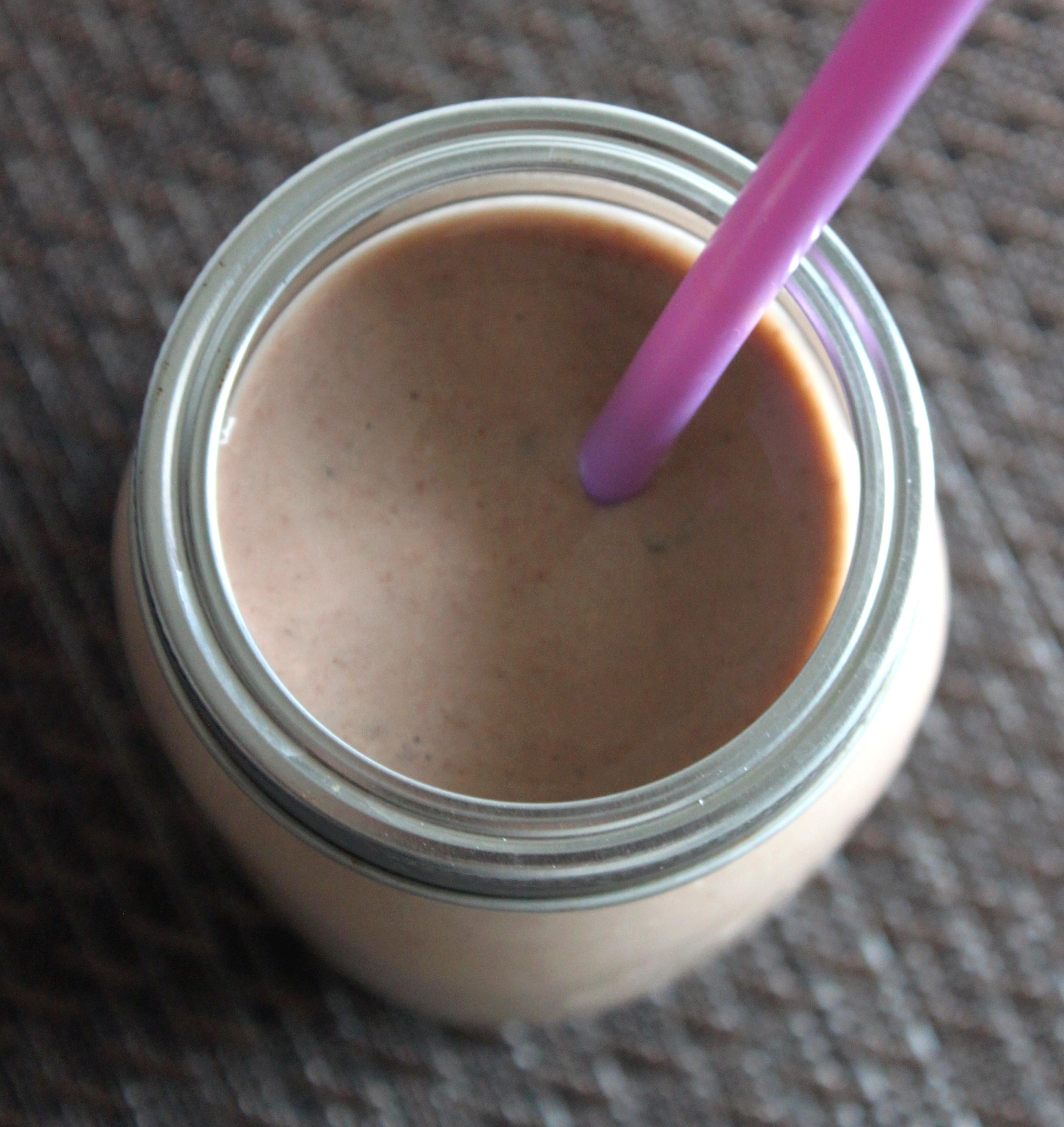 Chocolate Smoothie with Avocado