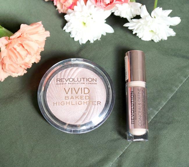 Makeup Revolution Highlighter + Concealer Review