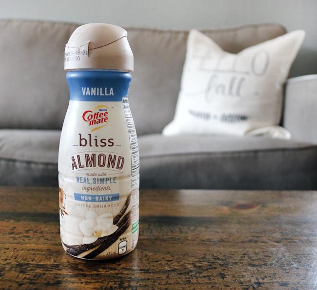 Coffee Matte Bliss Vanilla Almond Milk Coffee Creamer