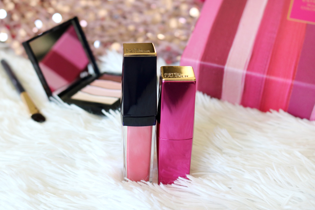 Estee Lauder Breast Cancer Lipstick and Lipgloss