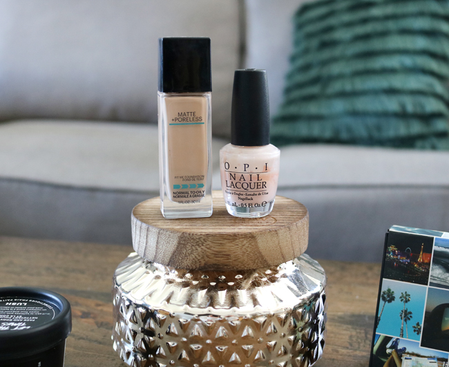 September 2018 Beauty Faves: Maybelline Matte & Poreless Foundation and OPI Bubble Bath Nail Polish