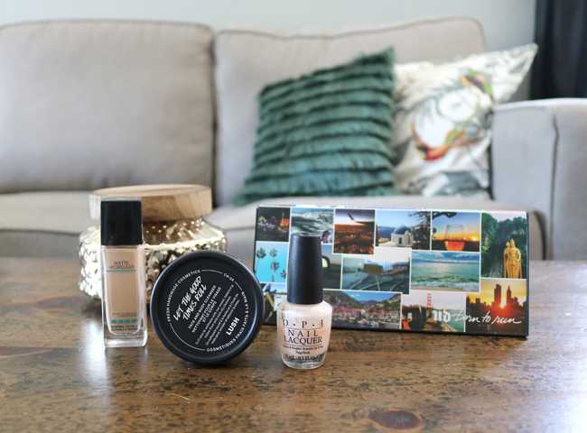 September 2018 Beauty Favourites: LUSH, Maybelline, Urban Decay, OPI