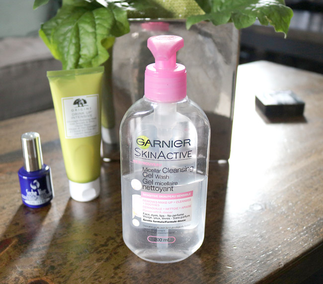 Garnier Micellar Cleansing Gel Wash Removes Makeup Without Stripping The Skin