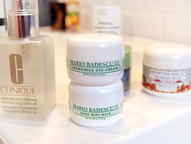 Empty Products, Skincare Edition: Mario Badescu Chamomile Eye Cream + Rose Hips Mask