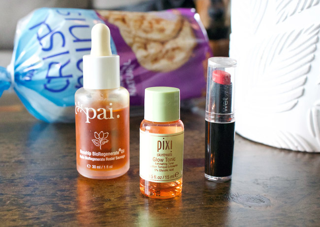 April 2019 Beauty & Lifestyle Favourites - Pai, PIXI, Wet N Wild, Crispy Mini