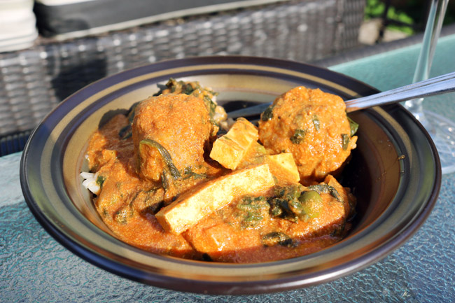 Easy and Healthy Butter Chicken Meatball Recipe