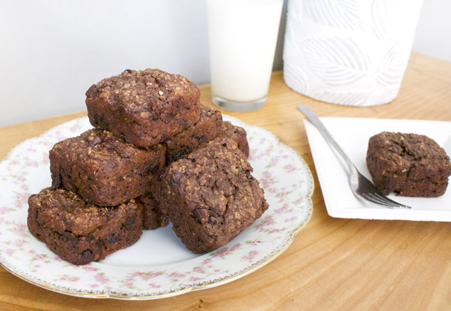 "#HealthyBirdy Protein Banana Chocolate Chip ""Muffins"""