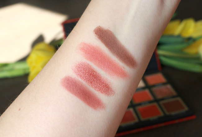 CATRICE Badass Bae Eyeshadow Palette Swatches - Bottom Row