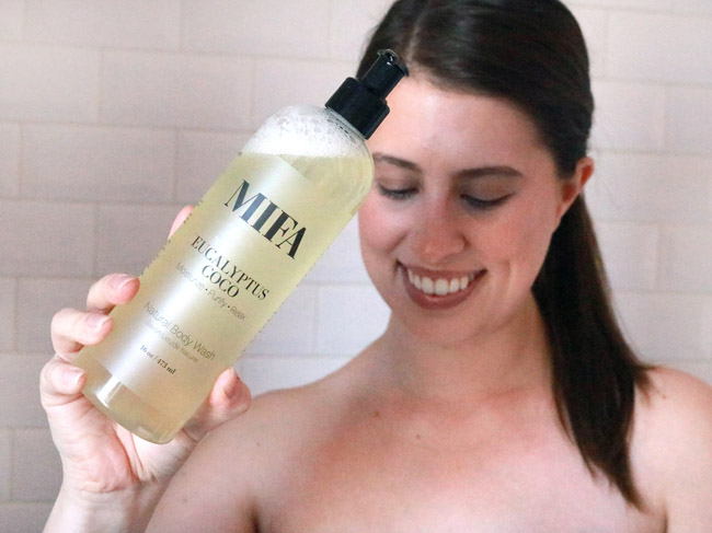 MIFA and Co. Eucalyptus Coco Body Wash