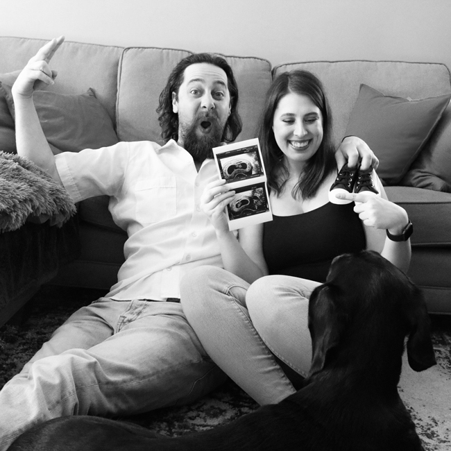 WE'RE PREGNANT!