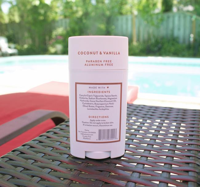 NATIVE Coconut & Vanilla Deodorant Review